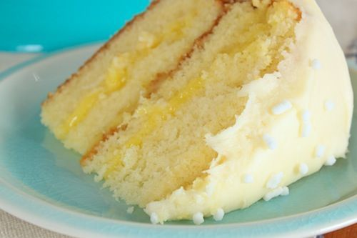 LemonChampagne Cake with Cream Cheese Frosting Recipe Champagne