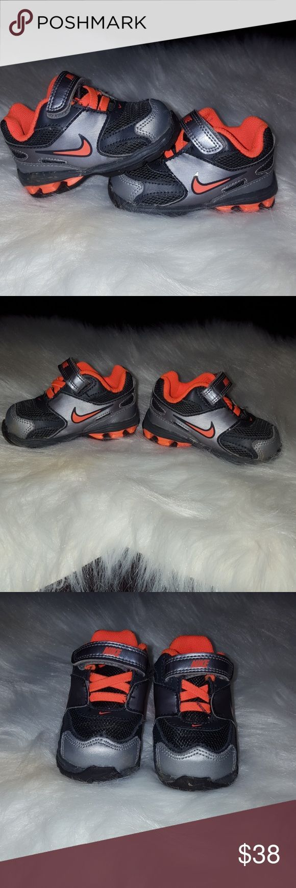 Baby boy Nike Reax size 4c EUC Baby boy