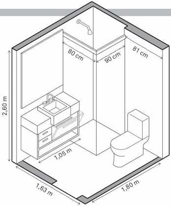 tiny bathroom floor plan   Dream Home Renovations   Pinterest ...