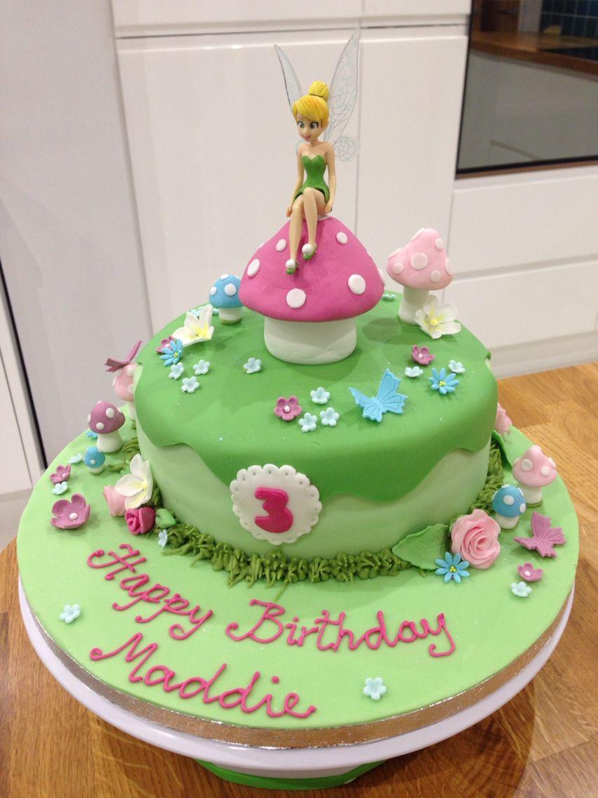 Tinkerbell Cake My Cakes In 2018 Pinterest Cake Fairy Cakes