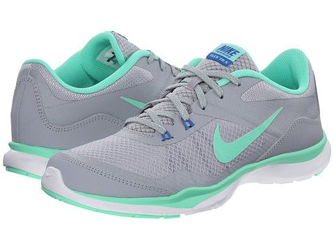 Flex trainer 5 wolf grey green glow pure platinum soar, Nike. Grey ShoesOmg  ...