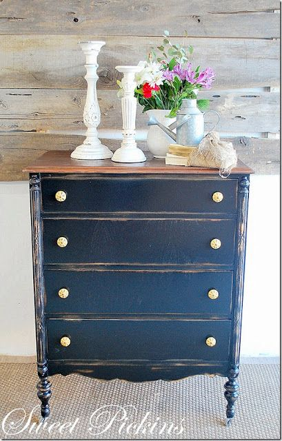 Distressed Furniture Painted