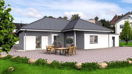 Bungalow Fertighaus Massivhaus Hausbau Billerbeck