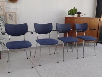 Gispen de wit stoel dutch design stoelen denim bakeliet