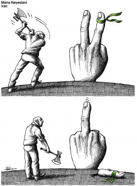 Kaveh Gharib On Satirical Illustrations Caricature Deep Art