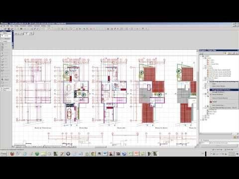 CASA DESDE 0 S01X00 Importando un archivo de Autocad al Archicad -PILOTO - YouTube