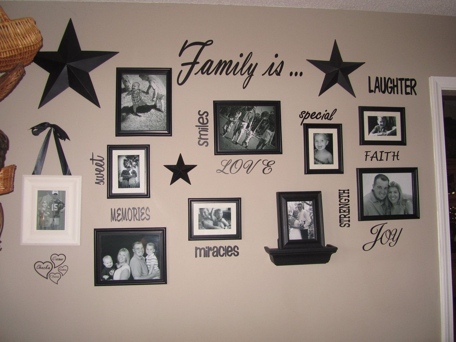 Family Sayings And Phrases Family Wall Quotes And Collage Wall