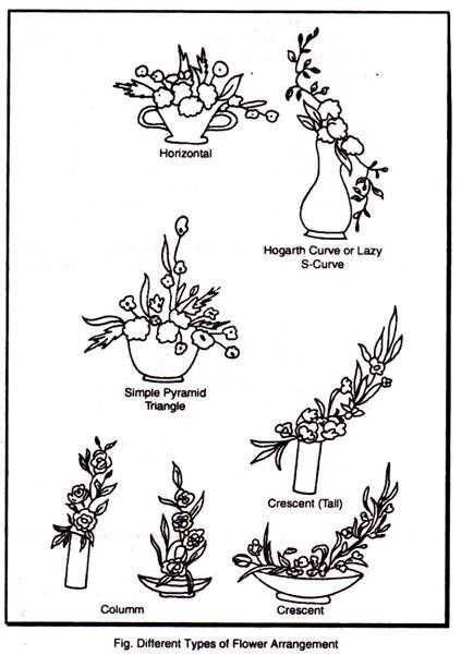 Line Drawings Of Flower Arrangements : Winning rose arrangement line mass google search