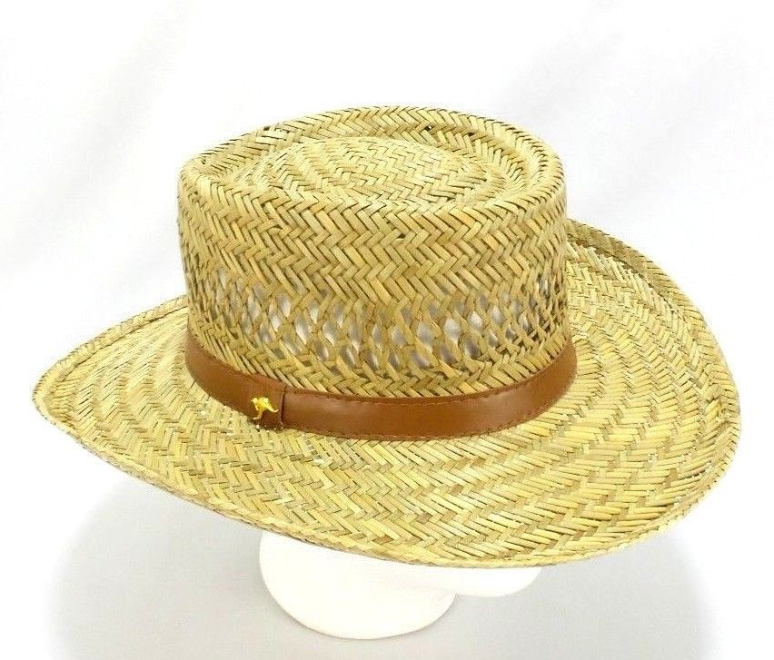 Dorfman Pacific Authentic Handmade DPC Straw Hat Unisex Size Large   DorfmanPacific  StrawHat db200c61be2