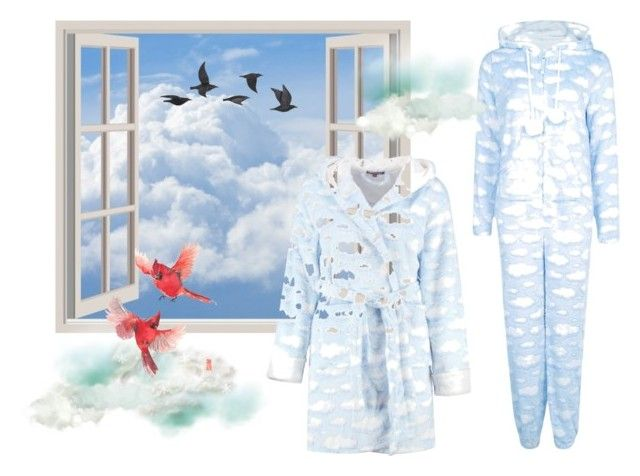 """""""Clouds and fashion"""" by atenaide86 ❤ liked on Polyvore featuring Boohoo and Jayson Home"""