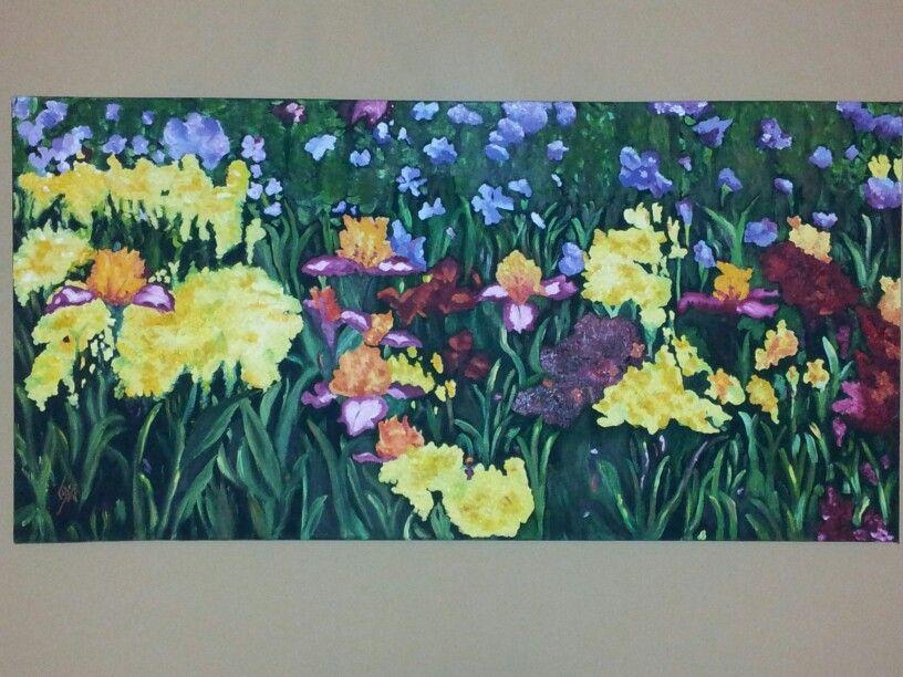 Popurri flores oleo
