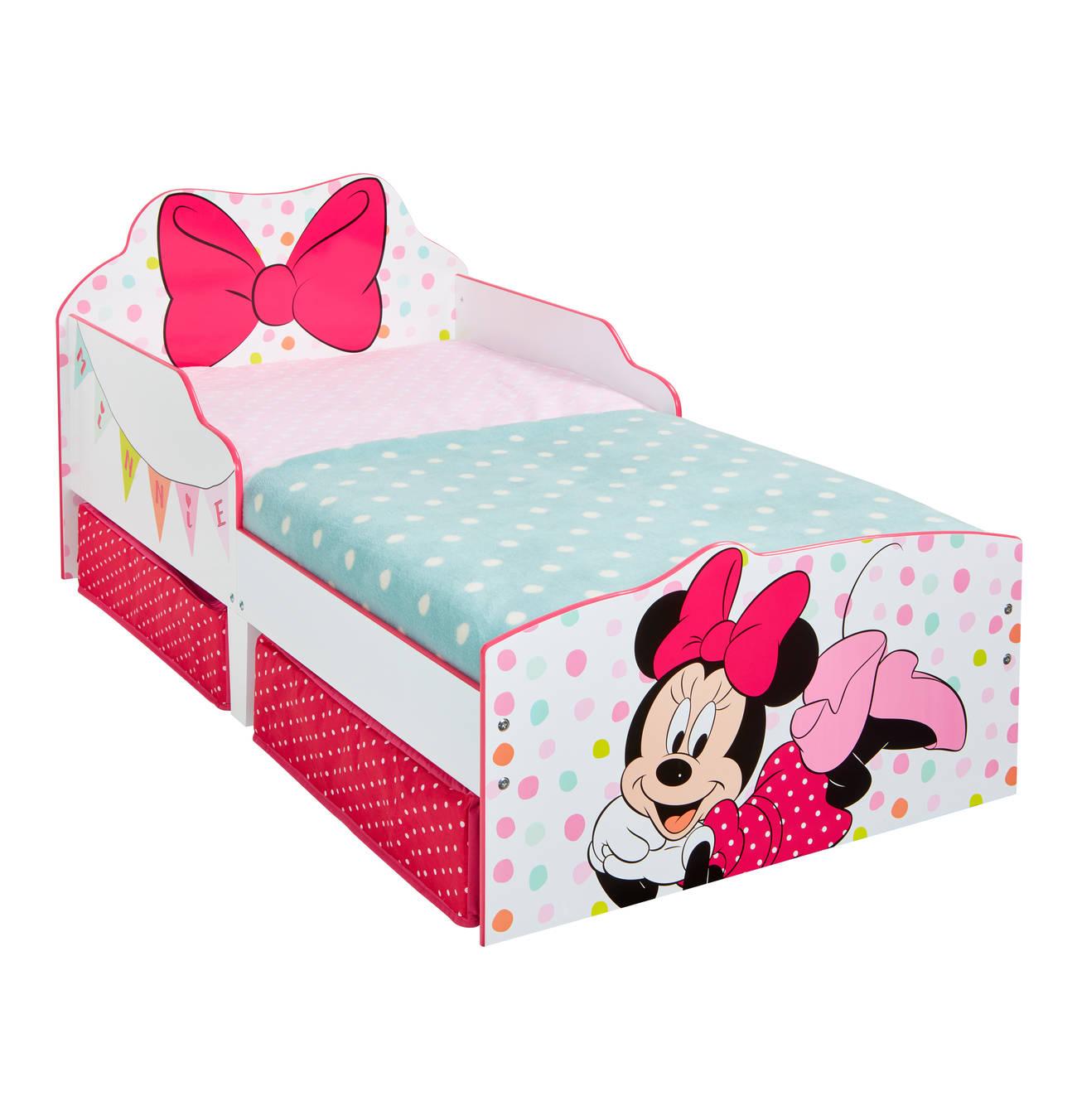Kinderbett Minnie Kleinkinderbett Bett Mit Aufbewahrung Kinderbett
