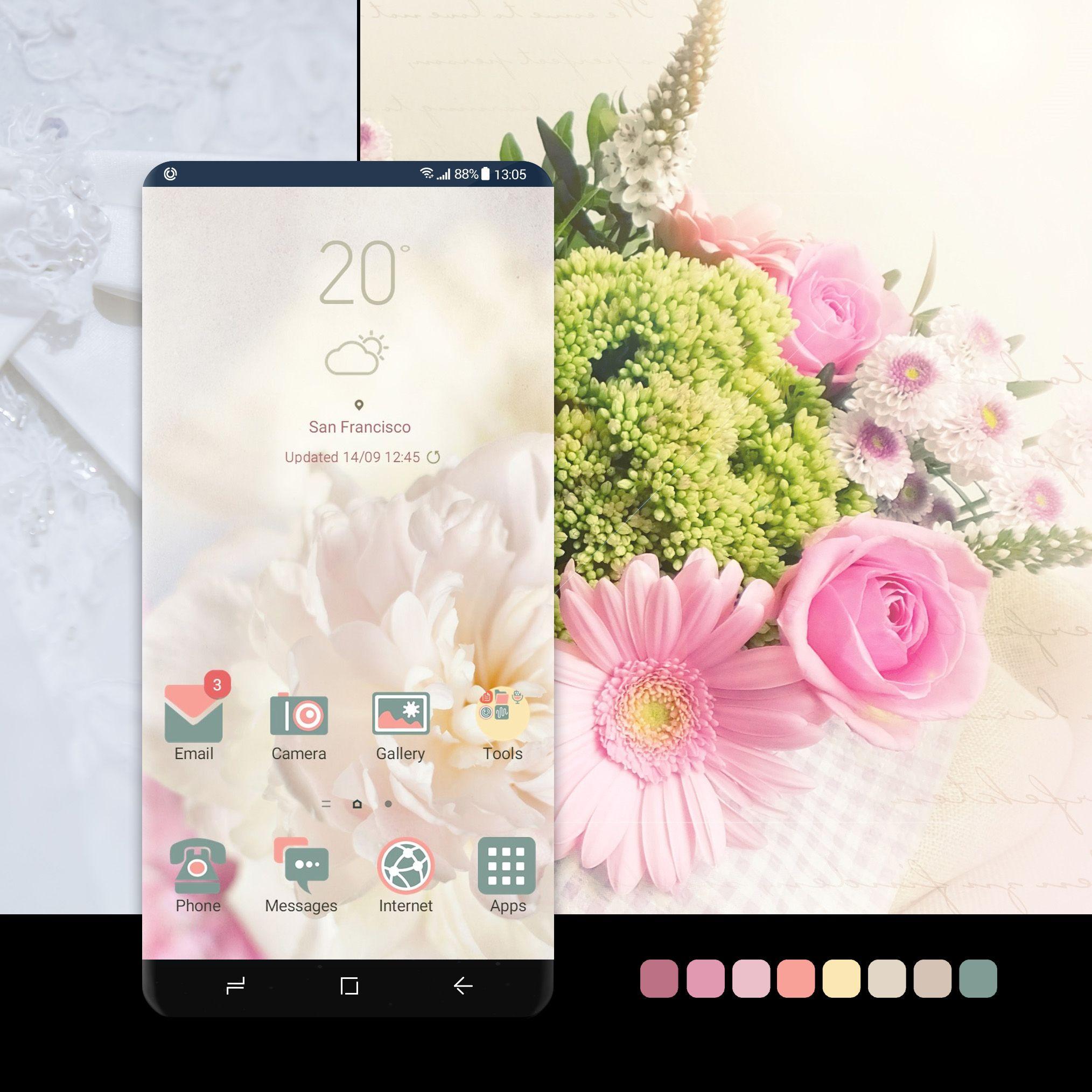 Spring Peonies Samsung Wallpaper Spring Peony Samsung