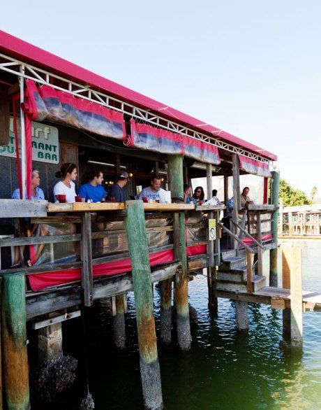 St Petersburg The Overwater Wharf Restaurant Is Known For Serving Some Of Pete Beach S Best Seafood