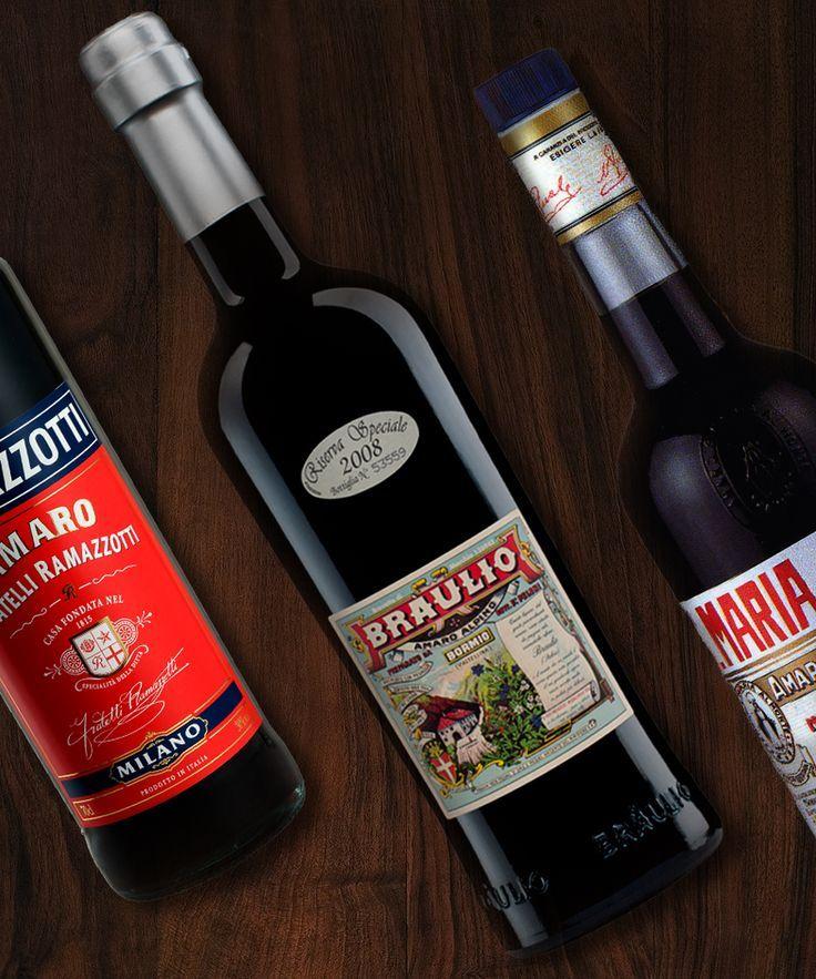 Amaro ist der bittere italienische Likör, der verwendet werden kann, um ...   - Drink DuJour -