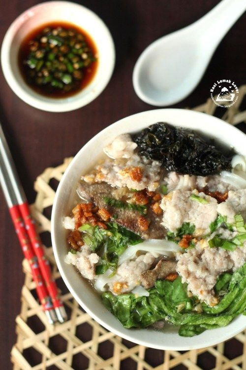 Recipe Kway Teow Soup