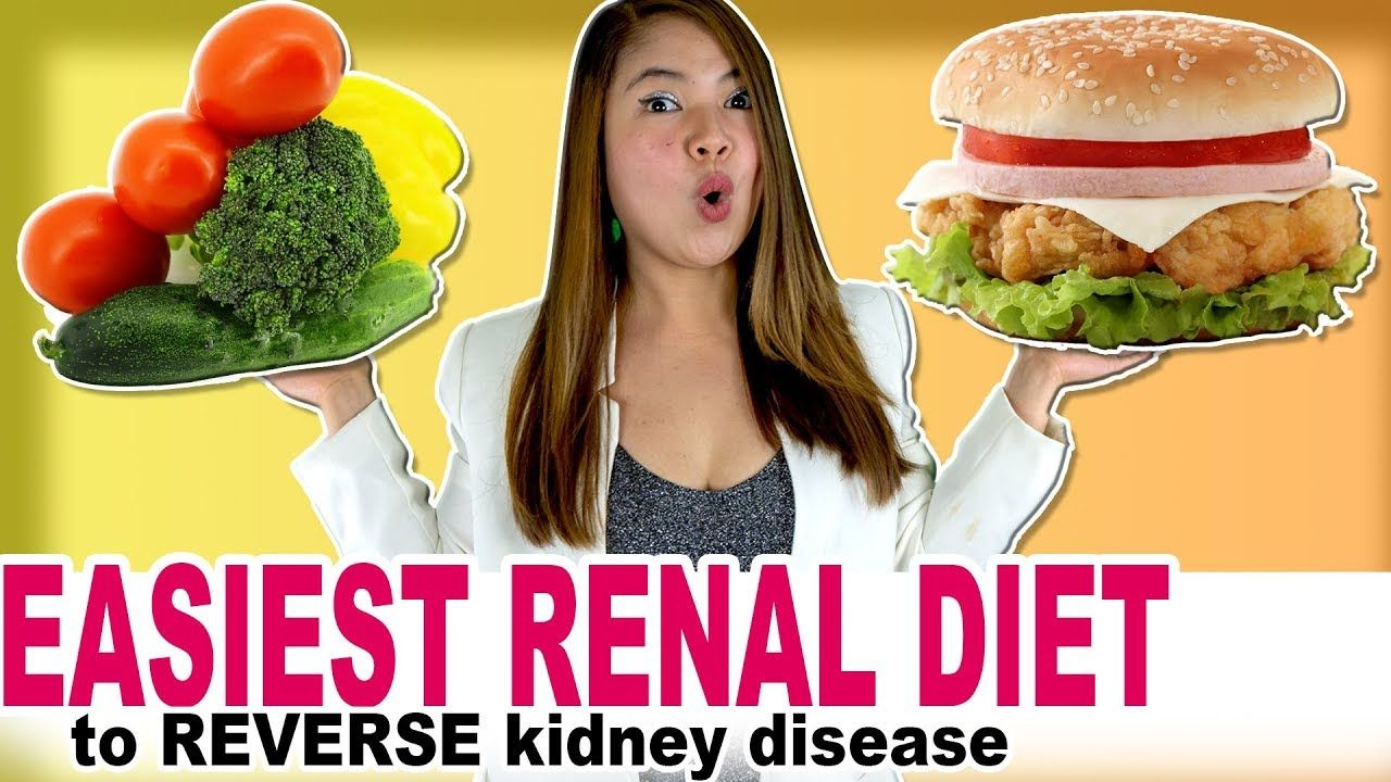 Renal Diet to Reverse Kidney Disease in 2019 Part 1