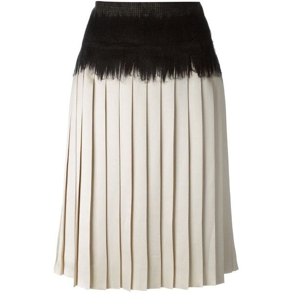 Popular Online Salvatore Ferragamo Pleated Knee-Length Skirt Buy Cheap Official Site YESdZuME