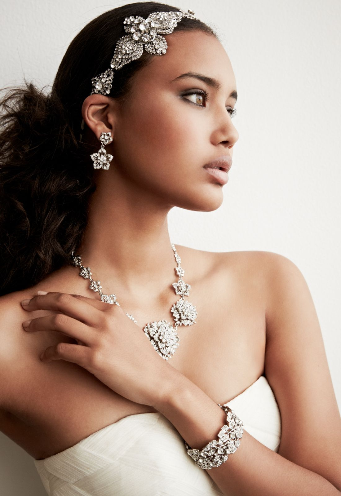from simple to bold, shop all jewelry from david's bridal to