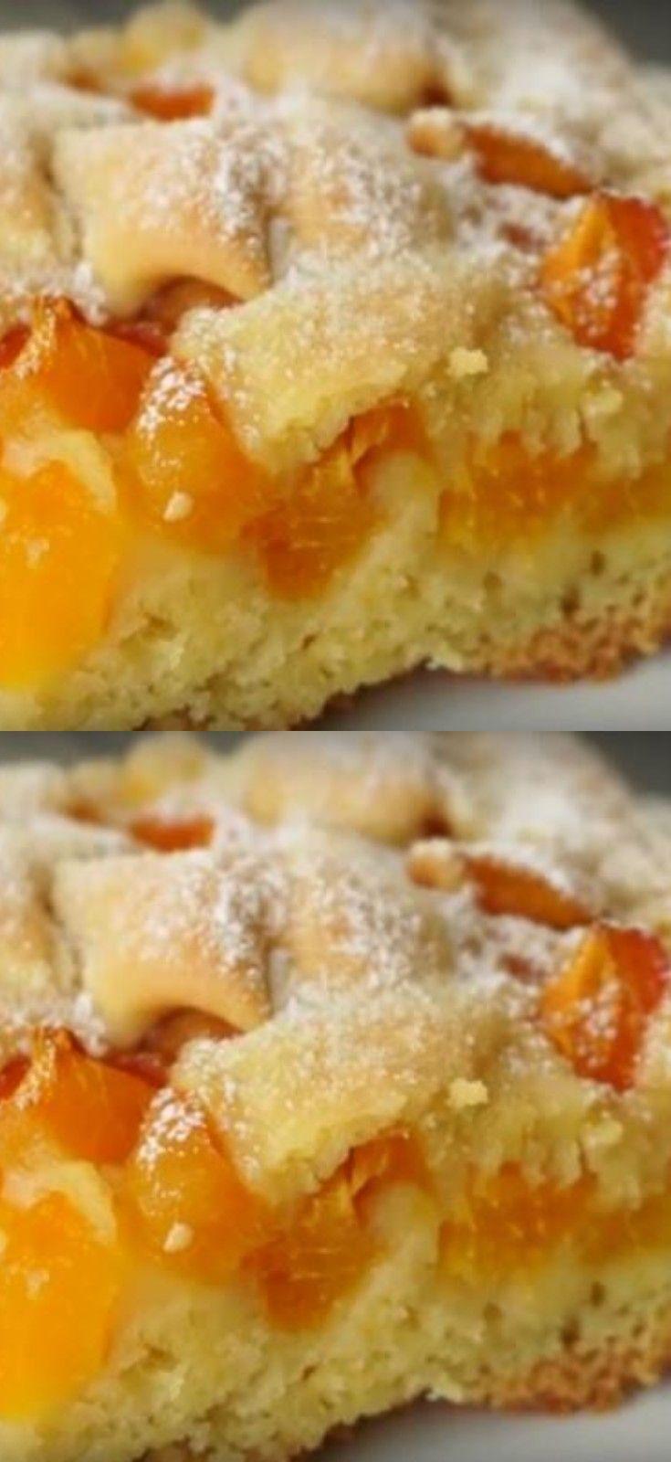 Быстрый и невероятно вкусный абрикосовый пирог к чаю #kochenundbacken