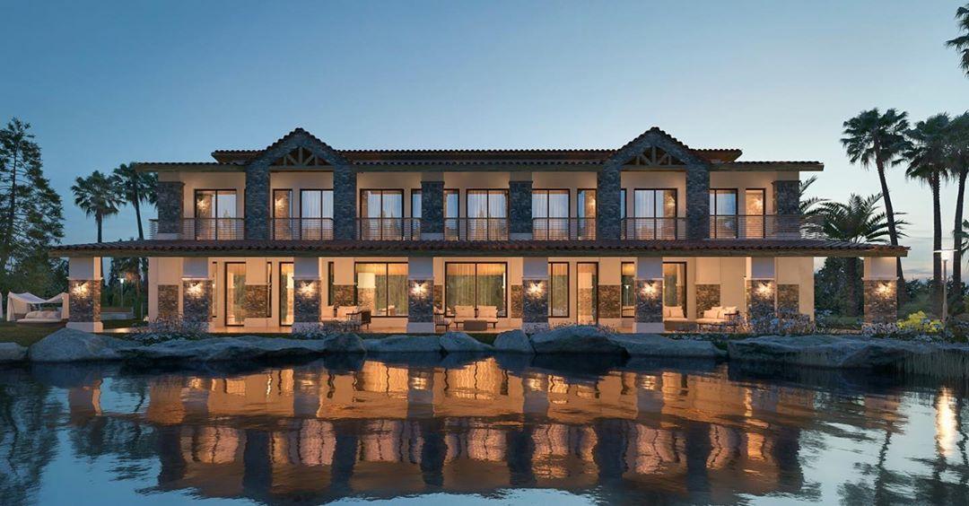 Country Residence Wafra The Triplex Residential Complex استراحة عائلية الوفرة الزراعية تصميم دار طاهر للاستشارات الهندسية عن House Styles Mansions Home