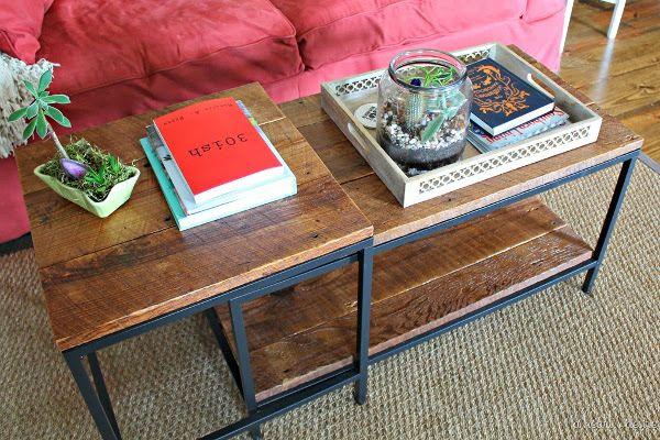 5 coole ikea vittsj makeover ideen zum nachmachen kombination wirken und ikea. Black Bedroom Furniture Sets. Home Design Ideas