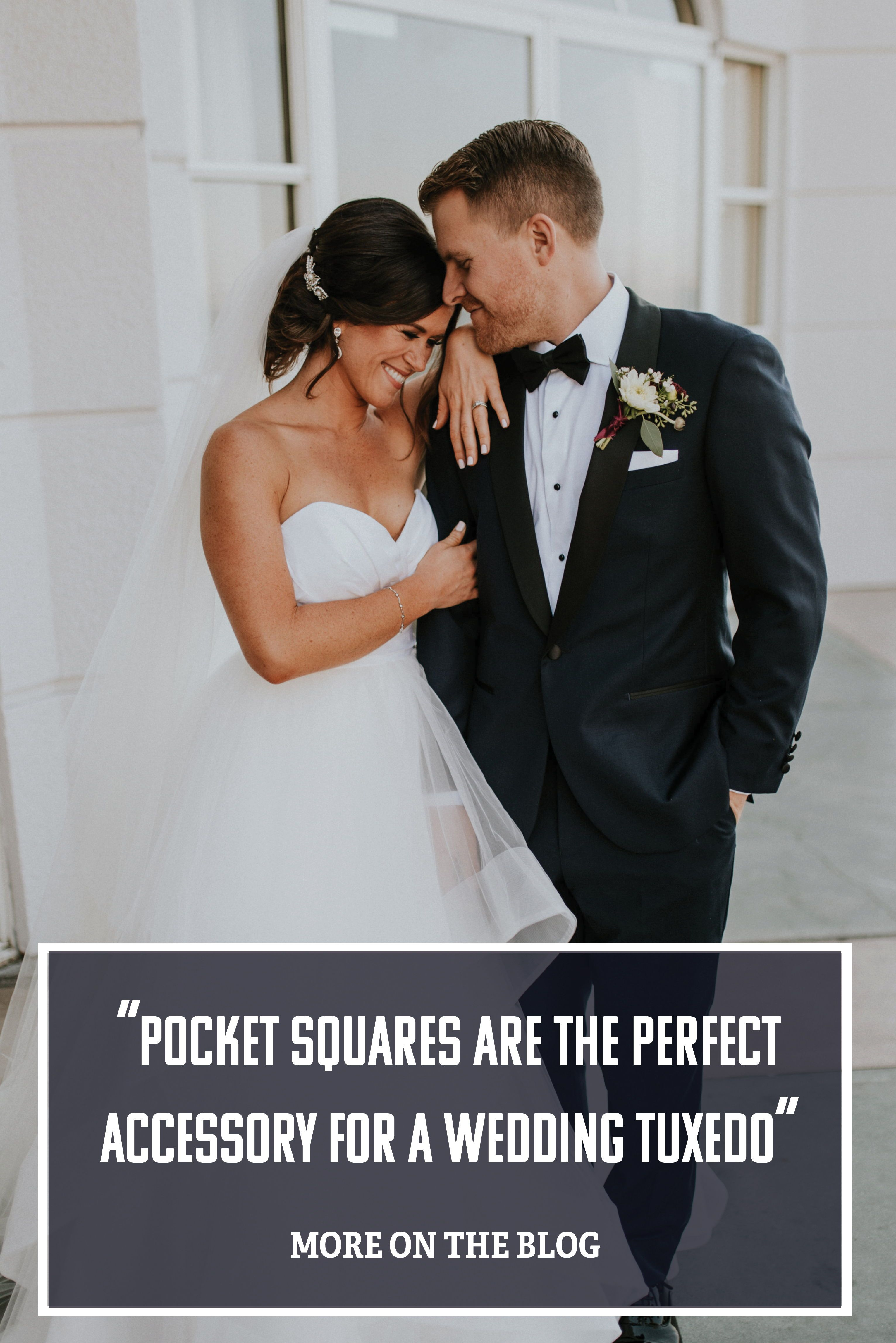 69693f6f9a25 Classic Pocket Square Folds For Wedding Suits And Tuxedos | The Groomsman  Suit | #weddings