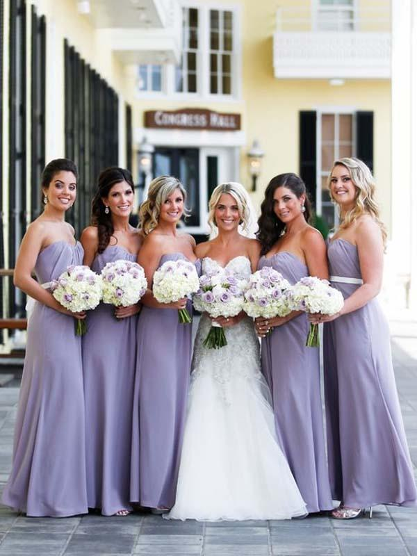 Cheap Light Purple Sweet Heart Long Bridesmaid Dresses Bw0386 Lavender Bridesmaid Dresses Light Purple Bridesmaid Dresses Purple Bridesmaid Dresses