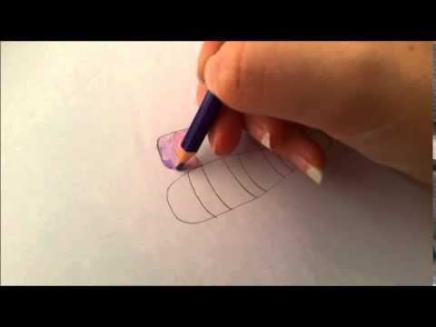 Tutoriel Crayons De Couleur Donner Du Relief A Un Objet