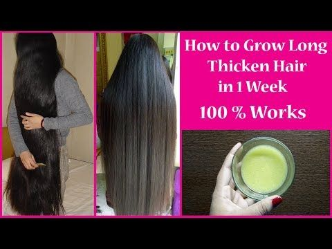 Hair Growth Challenge To Get Long Thick Hair In Just A Few
