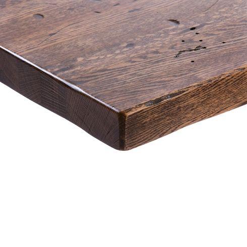 Hand Distressed Oak Plank Woods Restaurant Restaurant Table Tops Oak Planks