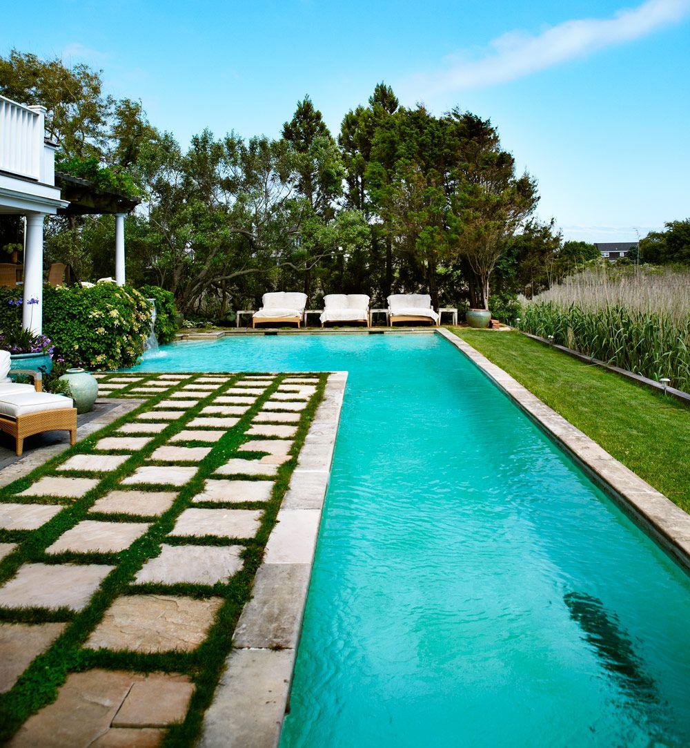 Sommarhus i new englandstil i the hamptons landscaping for Pool design hamptons