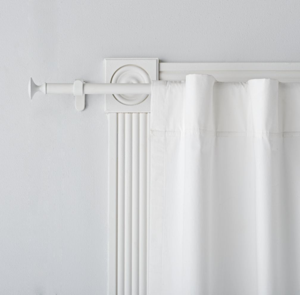 clocks rods outstanding walmart rod fixed shower white curtain tension