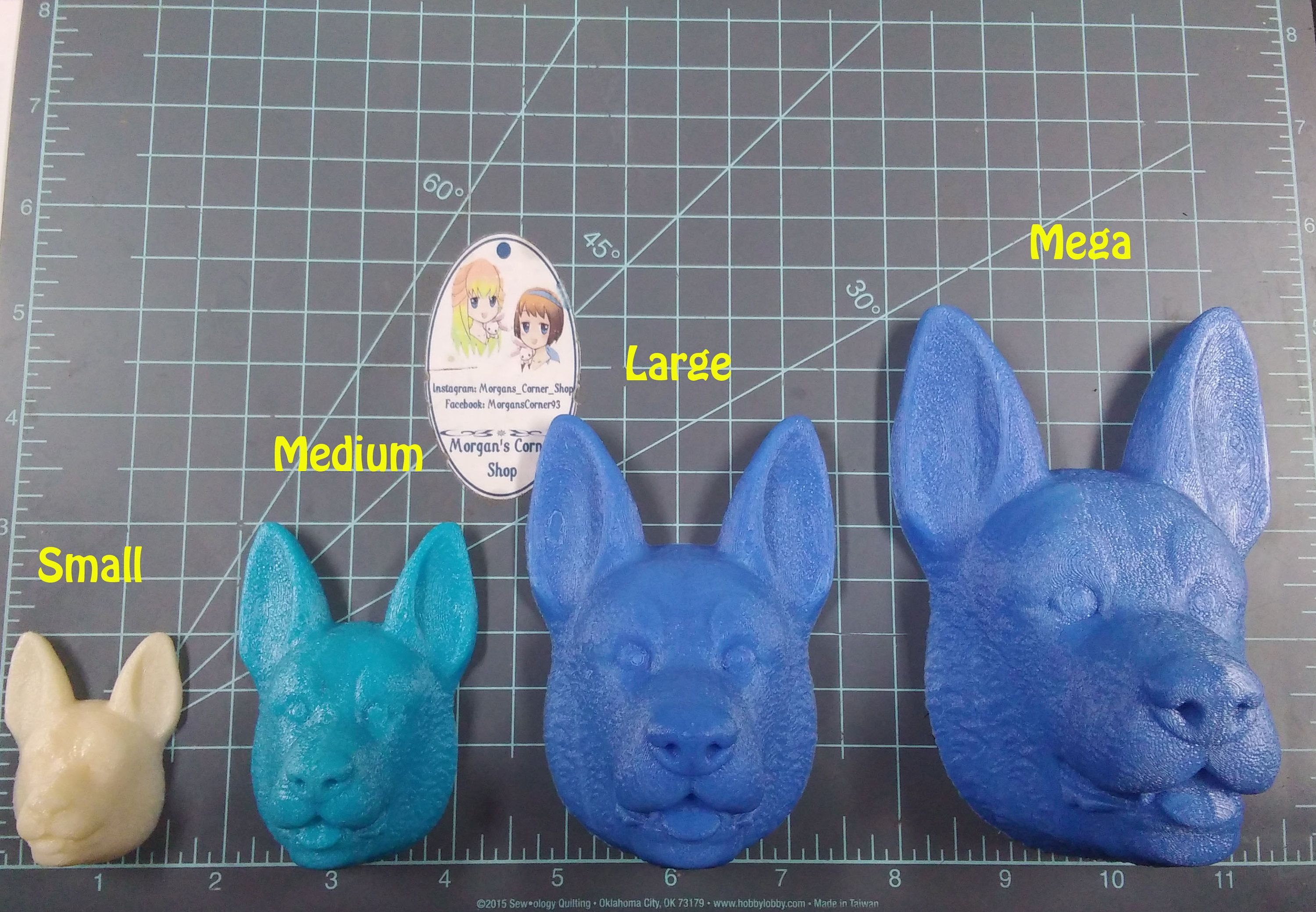 2x Cute Animal Cat Transparent Silicone Mold Resin Casting Mould DIY Jewelry