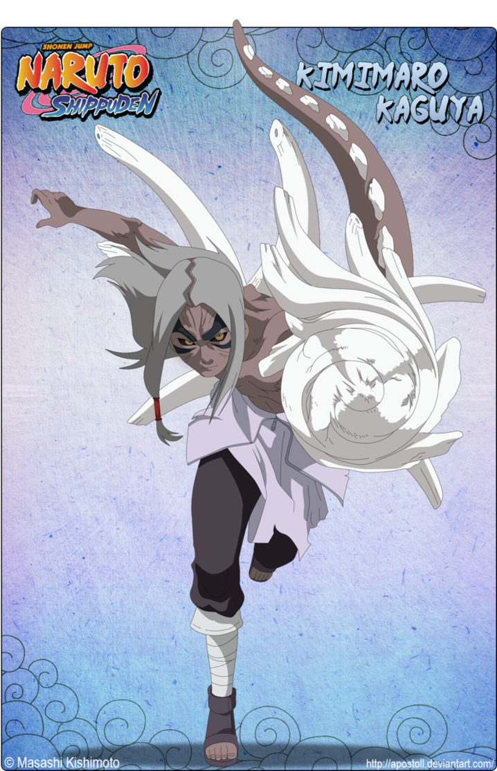 Kimimaro Kaguya By Apostoll Naruto Shippuden Anime Naruto Art Gaara