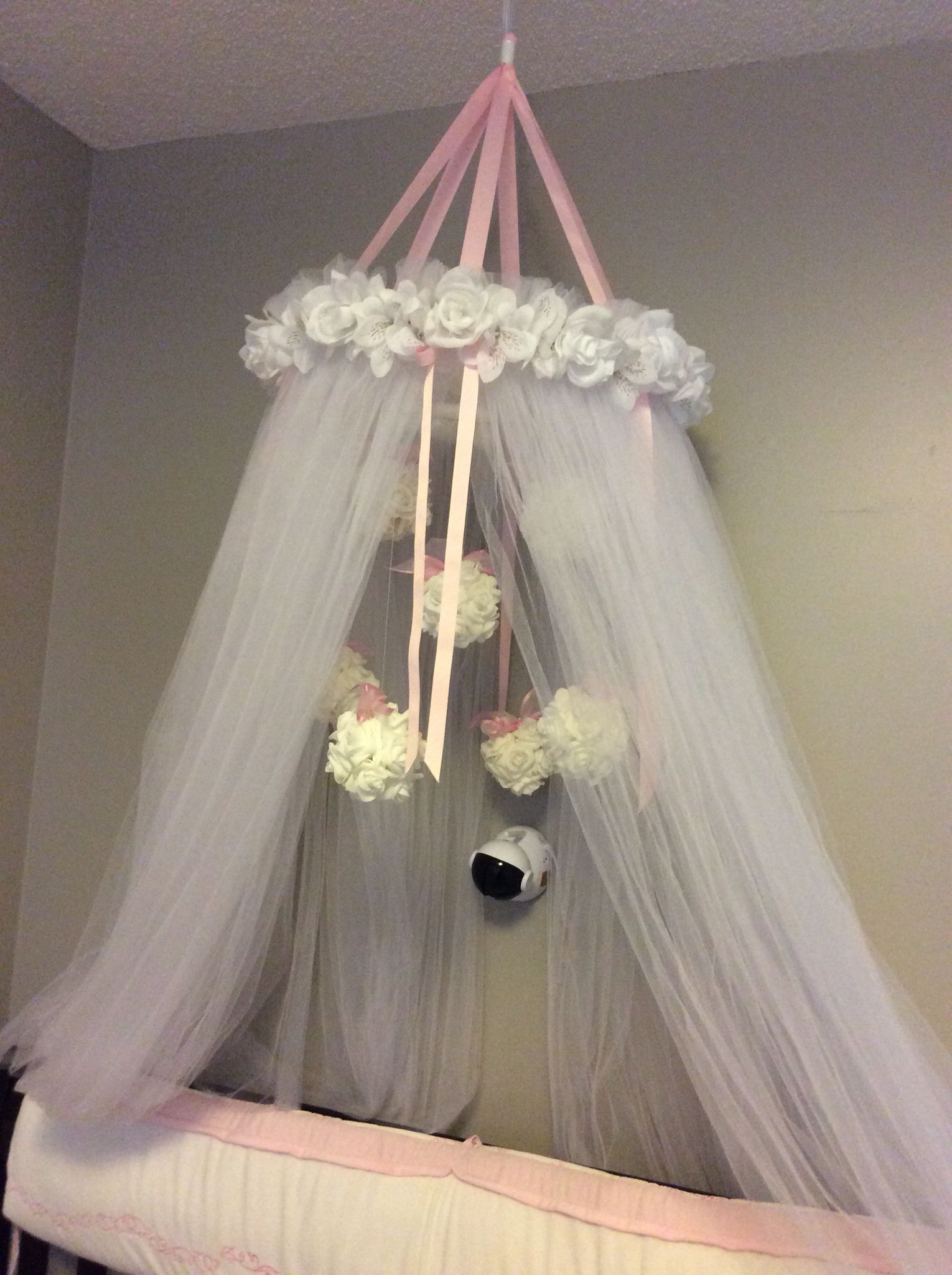 Diy Baby Princess Canopy Over Crib Girl Kadence