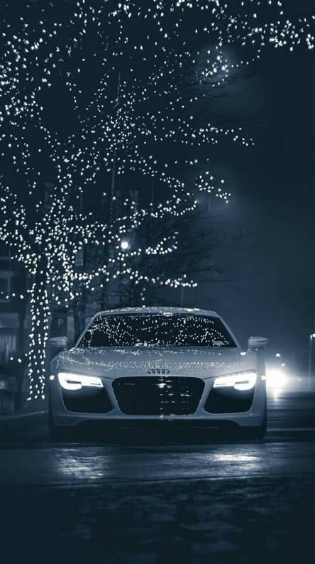 Audi R8 Christmas Vibe Perfect wallpaper for your iPhone if you're looking for expensive luxury c