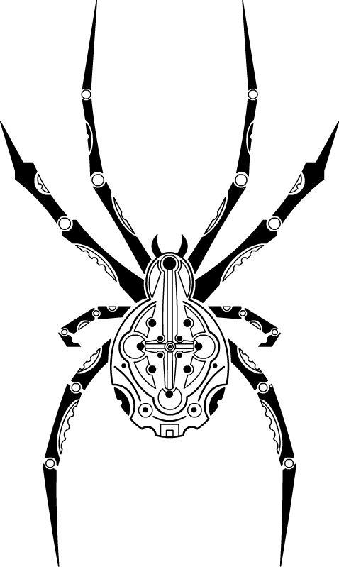 Mechanical Spider By Shinodaarts On Deviantart