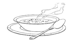 Image Result For Bowl Of Soup Clipart Black And White Black Eyed Peas Turkey Soup Stew