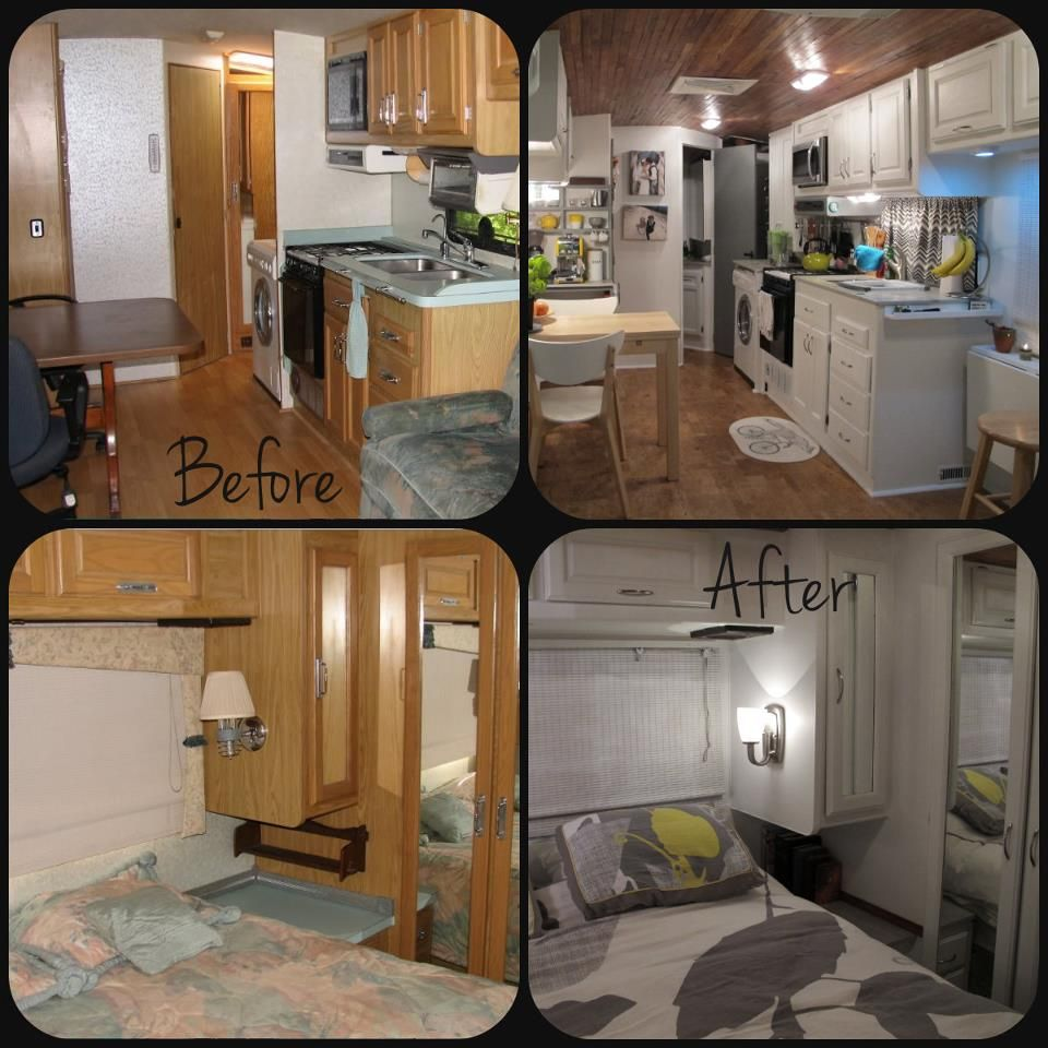 before and after i want to do this to my camper travel trailer reno pinterest. Black Bedroom Furniture Sets. Home Design Ideas