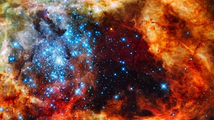 Star cluster wallpaper 2560x1440 (34740) High Quality