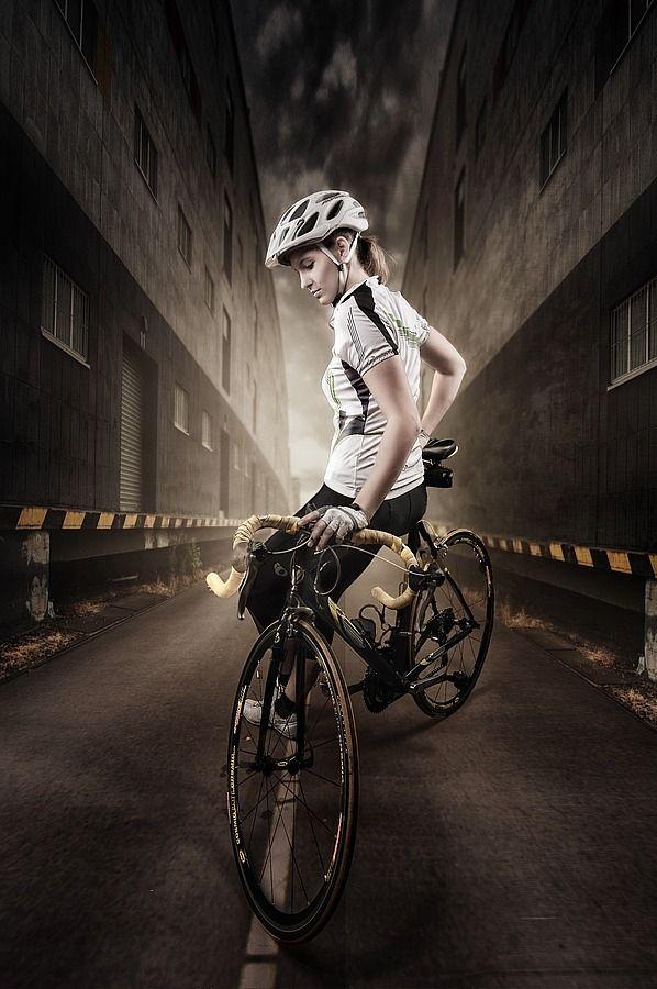 A Biker S Portrait I By Knut Haberkant Via 500px Cycling