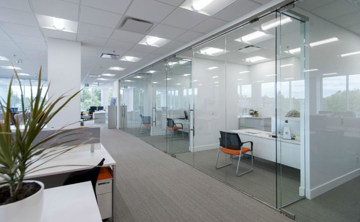 The Newmark Group office by Jonathan Morgan  Company, Langley