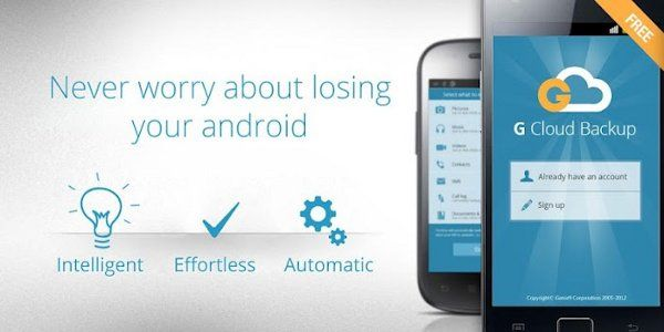 Review G Cloud Backup Android App >>> click the image to