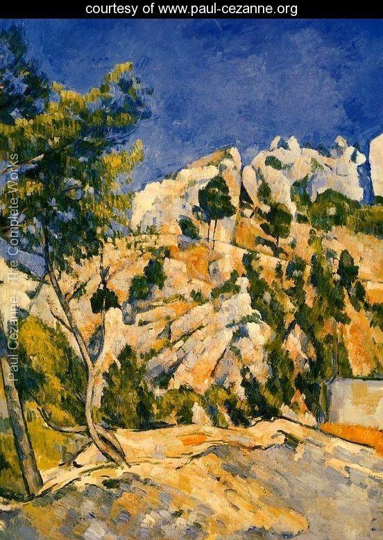 Bottom Of The Ravine - Paul Cezanne - www.paul-cezanne.org