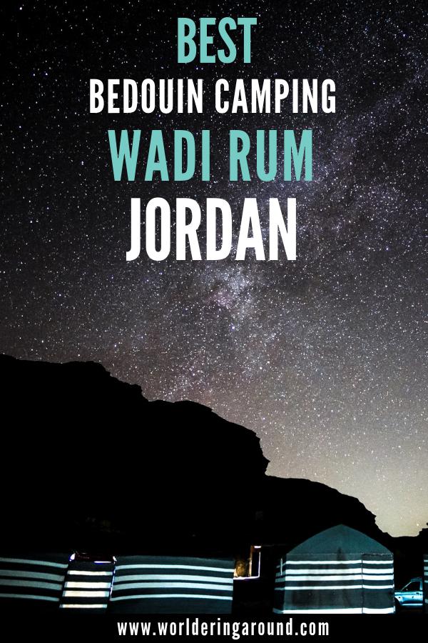 Jordan Wadi Rum Camping Guide & Best Bedouin Camps On The Desert