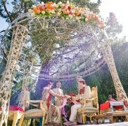 Beautiful Indian Ceremony coordinated by Tosca Productions