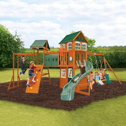 Ordinaire Big Backyard By Solowave® Hillcrest Clubhouse With Tunnel
