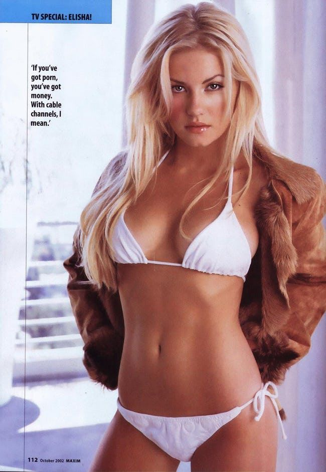 With nude elisha cuthbert every day becomes a holiday