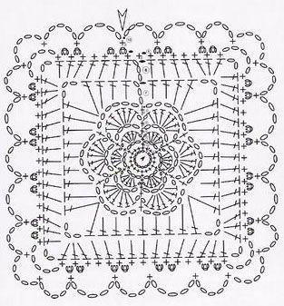 Crochet Square Intricate Crochet Crochet Crochet Squares